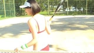 Minami Yamada tennis in swimsuit Tennis in bikini Tennis shower 2020122