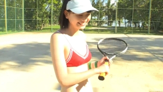Minami Yamada tennis in swimsuit Tennis in bikini Tennis shower 2020125