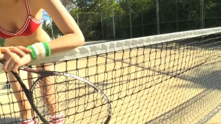 Minami Yamada tennis in swimsuit Tennis in bikini Tennis shower 2020128