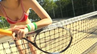 Minami Yamada tennis in swimsuit Tennis in bikini Tennis shower 2020129