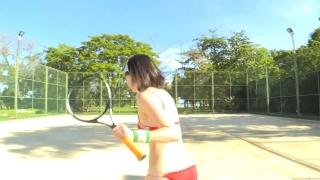 Minami Yamada tennis in swimsuit Tennis in bikini Tennis shower 2020149