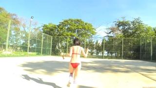 Minami Yamada tennis in swimsuit Tennis in bikini Tennis shower 2020150