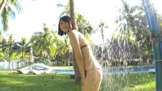 Minami Yamada tennis in swimsuit Tennis in bikini Tennis shower 2020165