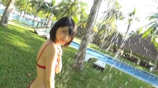 Minami Yamada tennis in swimsuit Tennis in bikini Tennis shower 2020170