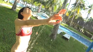Minami Yamada tennis in swimsuit Tennis in bikini Tennis shower 2020174