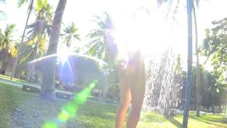Minami Yamada tennis in swimsuit Tennis in bikini Tennis shower 2020176