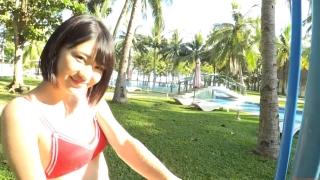 Minami Yamada tennis in swimsuit Tennis in bikini Tennis shower 2020187