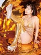 Shinonome Umi golden swimsuit gold bikini 2020007