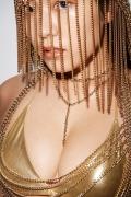 Shinonome Umi golden swimsuit gold bikini 2020004