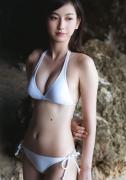 Akari Uemura swimsuit bikini picture 16 years old mystery white bikini white swimsuit003