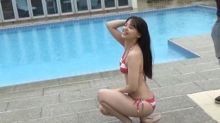 Saki Tatsuno swimsuit gravure bikini picture Gekidan 4 dollars 50 cents amazing face deviation pool part 2 2020002