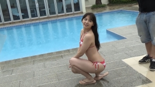 Saki Tatsuno swimsuit gravure bikini picture Gekidan 4 dollars 50 cents amazing face deviation pool part 2 2020005