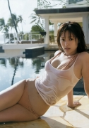 Kyoko Fukada gravure swimsuit picture reminiscence and record and AKUA058