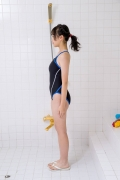 Satina Kashiwagi Rina swimming swimsuit picture shower bath time bathing002