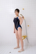 Satina Kashiwagi Rina swimming swimsuit picture shower bath time bathing009