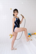 Satina Kashiwagi Rina swimming swimsuit picture shower bath time bathing010