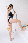 Satina Kashiwagi Rina swimming swimsuit picture shower bath time bathing011