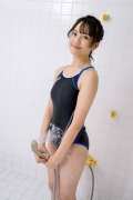 Satina Kashiwagi Rina swimming swimsuit picture shower bath time bathing016