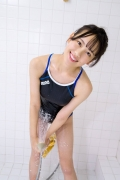 Satina Kashiwagi Rina swimming swimsuit picture shower bath time bathing030