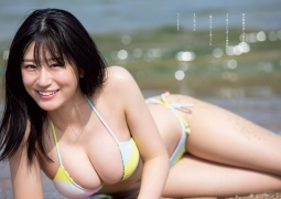 NMB48 Uenishi Rei swimsuit bikini picture The borderline of youth 2020003