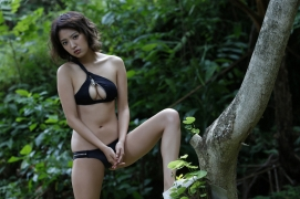 Natsuna 24 years old gravure swimsuit picture first last and ultimate010