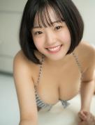Hanasaki Hiyori bowling in a swimsuit 2020011