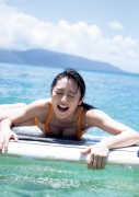 Kazusa Okuyama gravure swimsuit picture from heroine to full-fledged actress, the beautiful body in Australia part 2021