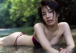 Miki Sato swimsuit bikini picture of her in the ocean, mountains and river for two days004