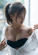 Up-andcoming actress Yume Shinjo appearing as Kira May Green in a swimsuit bikini picture on Majin Sentai Kira Meija 2020027