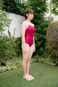 Asahina Saya red school swimsuit007