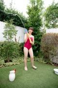 Asahina Saya red school swimsuit015