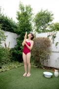 Asahina Saya red school swimsuit009