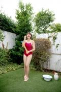 Asahina Saya red school swimsuit011
