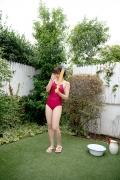 Asahina Saya red school swimsuit010