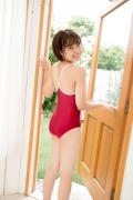 Asahina Saya red school swimsuit030