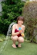 Asahina Saya red school swimsuit027