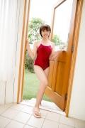 Asahina Saya red school swimsuit028