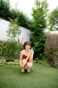 Asahina Saya red school swimsuit026