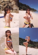 Asami Konno bikini picture from a girl to a woman in a swimsuit Morning Musume 2006004