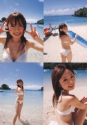 Asami Konno bikini picture from a girl to a woman in a swimsuit Morning Musume 2006008