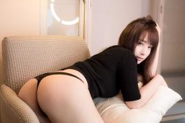 Iori Moe swimsuit gravure black bikini black bikini H cup Japans top cosplayer006