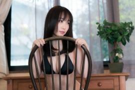 Iori Moe swimsuit gravure black bikini black bikini H cup Japans top cosplayer036