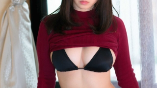 Iori Moe Swimwear Black Bikini Black Bikini004
