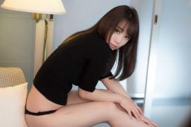 Iori Moe Swimwear Black Bikini Black Bikini015