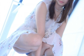 Iori Moe Swimwear Gravure Bikini Image Flowery Bikini001