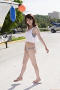 Ayako Iguchi Ayako Mozzarella body shocking swimsuit for college girls015