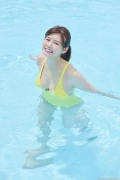 Ayako Iguchi Ayako Mozzarella body shocking swimsuit for college girls034
