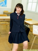 Hatsuki Tsubasa Swimsuit GravureSchool Uniform Girl and Bikini002