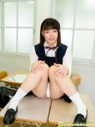 Hatsuki Tsubasa Swimsuit GravureSchool Uniform Girl and Bikini009