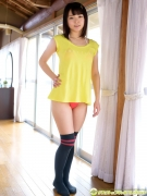 Hatsuki Tsubasa Swimsuit GravureSchool Uniform Girl and Bikini020
